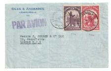CONGO BELGE BELGISH  1937  COVER LEOPOLDVILLE TO LONDON