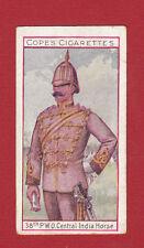 COPE BROS. & CO. LTD. - VERY RARE MILITARY CARD -  38TH  P.O.W.  OWN  -  1908