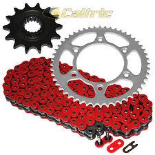 Red O-Ring Drive Chain & Sprockets Kit Fits SUZUKI RM-Z450 RMZ450 2005 2006 2007