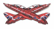 Raf Flèches Rouges Croisé Royal Air Force Militaire Patch Brodé