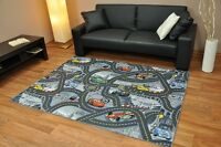 Disney Cars Grey Childrens Bedroom Playroom Carpets Kids Play Rug Pink Mat Fun