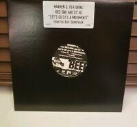 "N.W.A. / Warren G. / KRS-ONE - Beef Vinyl Single Record 12"" LP Rare eazy-e nwa"