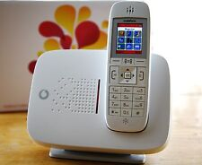 VODAFONE CORDLESS UNLOCKED WIRELESS GSM DESK PHONE PSTN LAND LINE SIM CARD