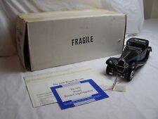 Franklin Comme neuf Bugatti Royale coupé Napoléon 1930 échelle 1.24 DIECAST MODEL