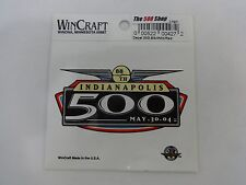 2004 Indianapolis 500 Collector Event Decal Stricker Indy500 IndyCar Indy 500