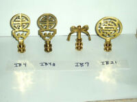 Lamp Finials Solid Brass NEW for $7.95 each