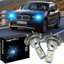 For BMW 3 Series E46 H7 55w ICE Blue Xenon High Main Beam Headlight Bulbs Pair