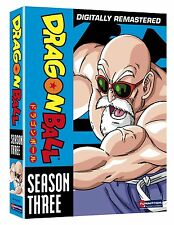 DRAGON BALL COMPLETE SEASON 3 DVD SET DRAGONBALL Region 4 New Z GT