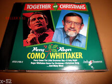 PERRY COMO Roger WHITTAKER cd TOGETHER at CHRISTMAS drummer boy AVE MARIA holy
