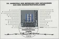 BRD 1995: KZ-Befreiungsblock Nr. 32 mit Berliner Ersttags-Sonderstempel! 1A 1610