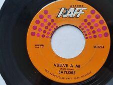 """SAYLORS - Vuelve a Mi  / El Sombrero 70's RANCHERA Merequetenque RAFF 7"""""""