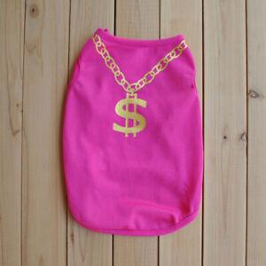 Pet Clothes Small Dog Cat Puppy Mesh Vest T Shirt Summer Breathable Apparel #
