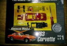 American Muscle '63 Corvette 1:64 Die-cast Kit