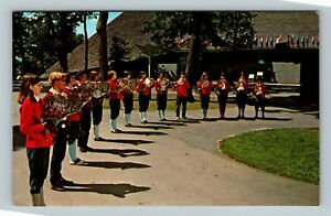 National Music Camp, Horn Rehearsal, Vintage Interlochen Michigan Postcard