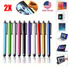 2X For Tablet iPhone iPad Samsung PC Universal Sensitive Touch Screen Pen Stylus