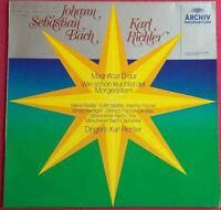 Bach / Karl Richter / Magnificat / Wie schön leuchtet der Morgenstern LP Vinyl