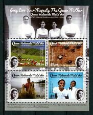 Tonga 2016 MNH Queen Mother Halaevalu Mata'aho 90th Bday 4v M/S Royalty Stamps