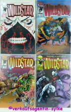 Nº 541: Wild Star nº 1 - 4 1993, 4 Image comic-cuadernos en inglés, nuevo