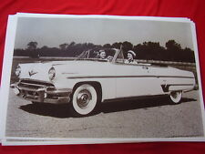 1954 LINCOLN CAPRI CONVERTIBLE 11 X 17  PHOTO   PICTURE