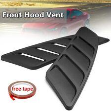 A Pair DIY Universal Car Bonnet Air Intake Flow Side Fender Vent Hood Scoop