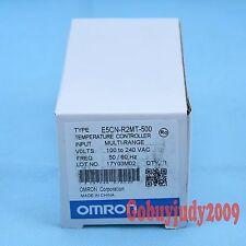 New In Box Omron Temperature Controller E5CN-R2MT-500 100-240VAC