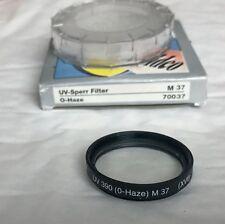 Vintage Hama 37 mm Filtre UV