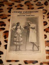 Programme Le Théâtre Universitaire - Les fourberies de Scapin, Andromaque