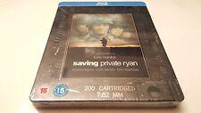 Saving Private Ryan Steelbook (Blu-ray, Uk Import) Play.com Exclusive Rare Oop