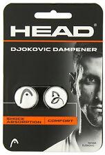 Head - Djokovic Dämpfer 2er weiss - Vibrationsdämpfer