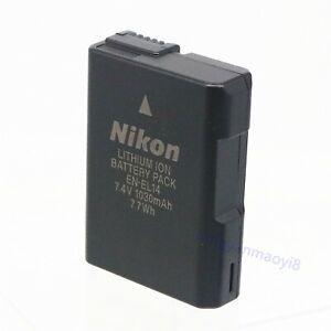 Batterie Nikon EN-EL14 d'origine pour D5500 D5600 D5300 D5200 D3300 D3200 P7700
