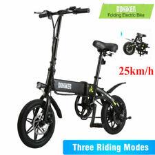 DOHIKER Pieghevole Bicicletta Elettrica,velocità Massima 25km/h 250W LED E BIKE