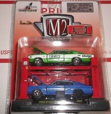 M2 Machines Auto-Lift 1966 Dodge Charger R09 Release 9 NEW 1:64 scale