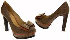 Stiletto Standard Width (B) Formal Textured Heels for Women
