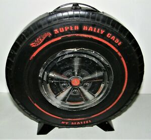 Vintage Original 1968 Redline Hot Wheels Carrying Case Holds 24 Cars Good Cond.
