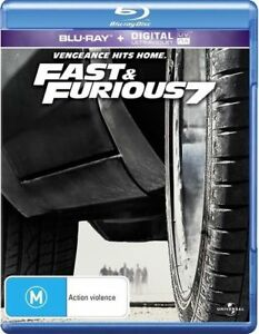 Fast & Furious 7 (Blu-ray, 2015)