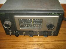 Hallicrafters S-53 Shortwave Radio Receiver 5 Band and AM Radio