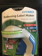 New Dymo 12965 Handled Embossing Label Maker 38 Inch 3d Black Label Cassette