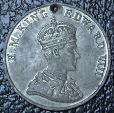 COMMEMORATE THE CORONATION of KING EDWARD VIII Westminster Abbey 1937 MEDALLION