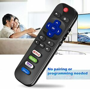 New Replacement Remote RC280-02 for TCL ROKU TV 50FS3750 55FS3700 LG TCL Sharp