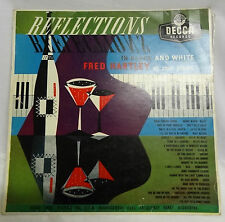 RECORD - REFLECTIONS IN BLACK AND WHITE - FRED HARTLEY - GREAT CONDITION