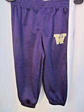 KNIGHTS APPAREL~Purple Mesh Like UW WASHINGTON HUSKIES Athletic Pants~SIze 2T