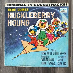Here comes Huckleberry Hound Original TV Soundtrack Hanna-Barbera Vinyl Record