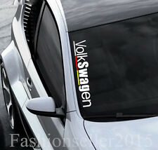 Reflective Front Windshield Side Decal Vinyl Car Stickers for VOLKSWAGEN Accesso