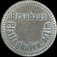 BIERMARKE: Flaschenpfand. BRAUHAUS PFAFFENHOFEN A. ILM / BAYERN.