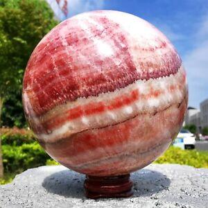 1520g Natural Pork stone Ball Quartz Sphere Healing