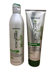 Matrix Biolage Fiberstrong Bamboo Fragile Hair Shampoo 13.5 OZ & Conditioner