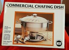 SEVILLE 4 QUART CHAFING DISH -18/10 STAINLESS STEEL - NEW IN BOX