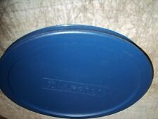"""ANCHOR HOCKING ZLID1907-AH ROUND BLUE REPLACEMENT LID COVER 7-1/4"""" DIAMETER"""