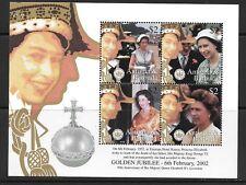 ANTIGUA SG3535a 2002 GOLDEN JUBBILEE SHEETLET  MNH