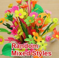 12 Piecs/Lot Cute Pens Flower Home Decoration School Office Supplies Stationery
